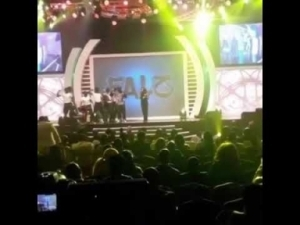 Video: Tiwa Savage, Kiss Daniel, Reekado Banks, Patoranking, falz & Simi at #AiteoNFFAwards2018